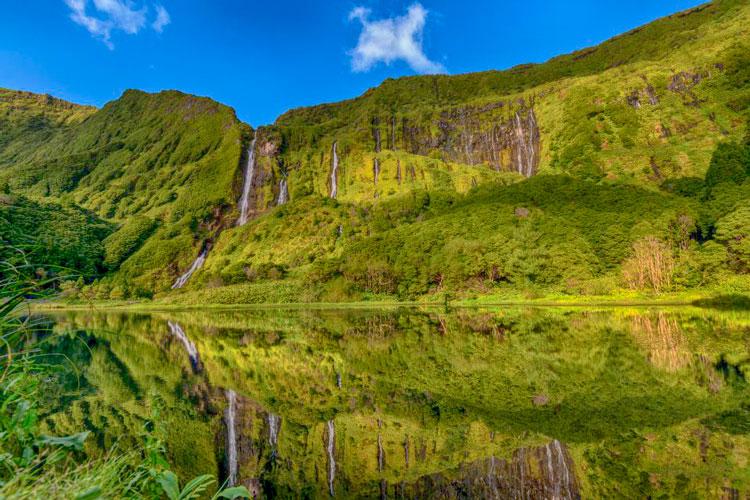 Percursos Pedestres Açores - Ilha das Flores - Poço da Alagoinha