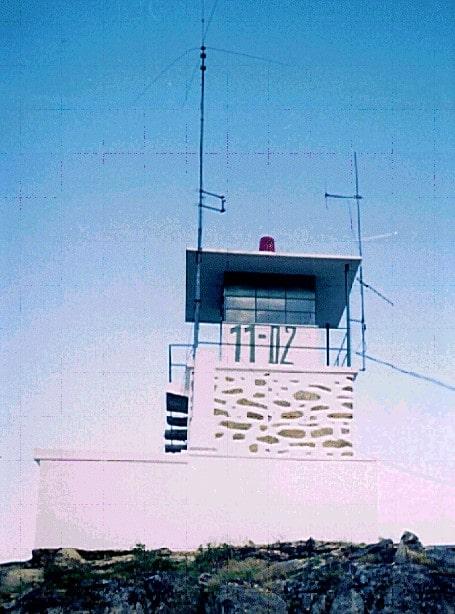 Serra do Leiranco Torre de vigia