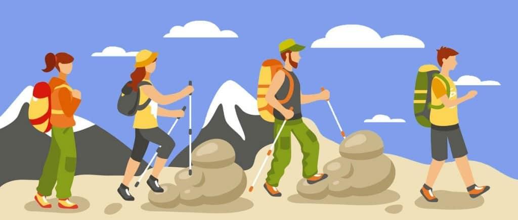 Equipamento para Caminhadas