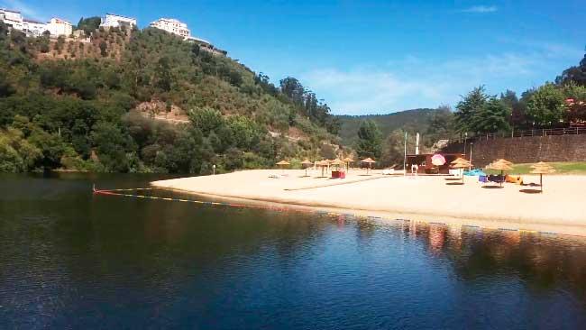 Praia fluvial de Reconquinho Praias Fluviais de Portugal